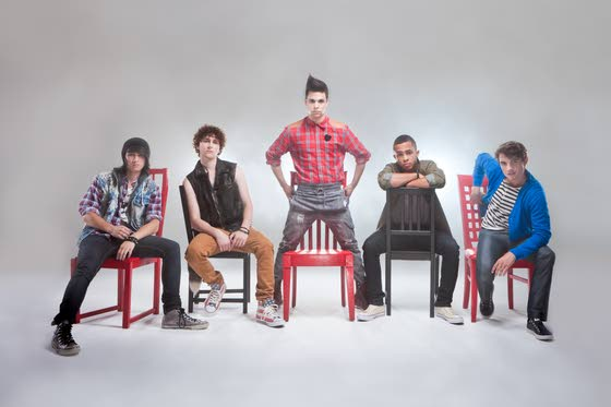 Rebranding Boy Bands: Pop group Midnight Red is a new version of an old breed