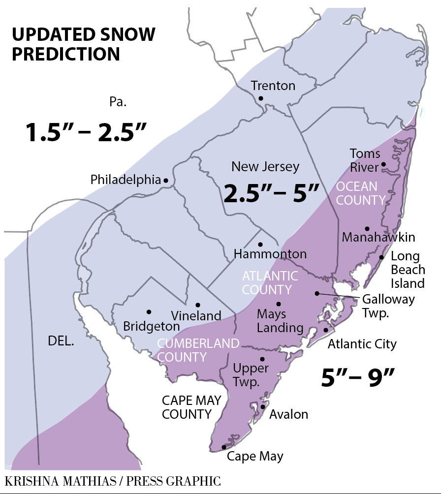 Update snow forecast
