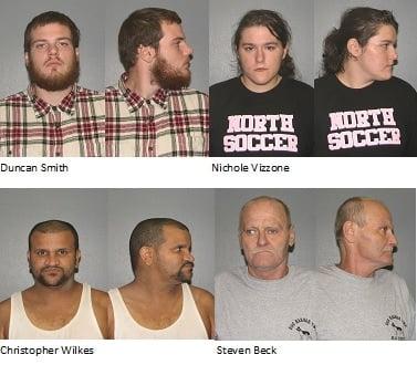 EHT arrests