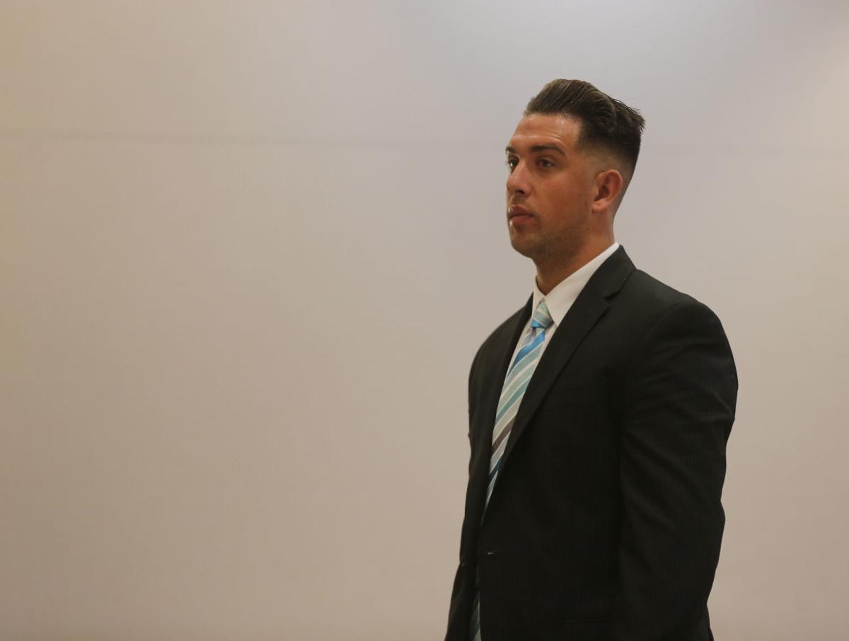 Zachary Madle arraignment before Judge Jeffrey Waldman Friday, Oct. 12, 2018