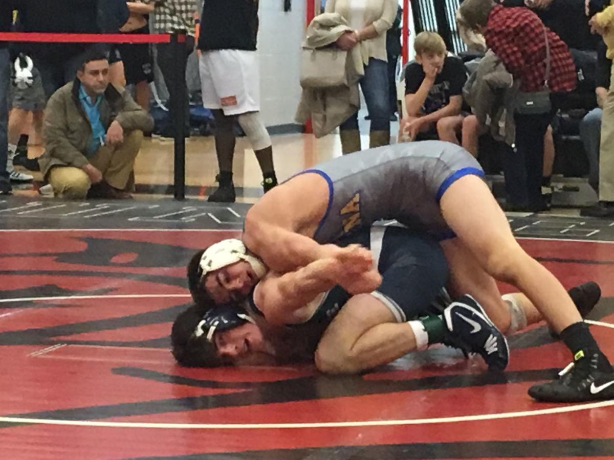 Buena's Clark wins first match