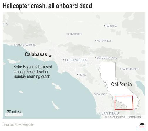 California helicopter crash