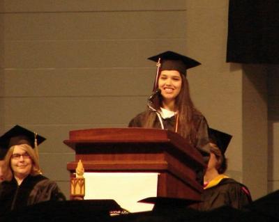 Jana DiCosmo Class Of 2008 Valedictorian