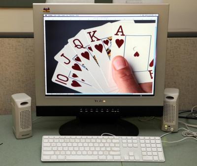 internet gambling illustration