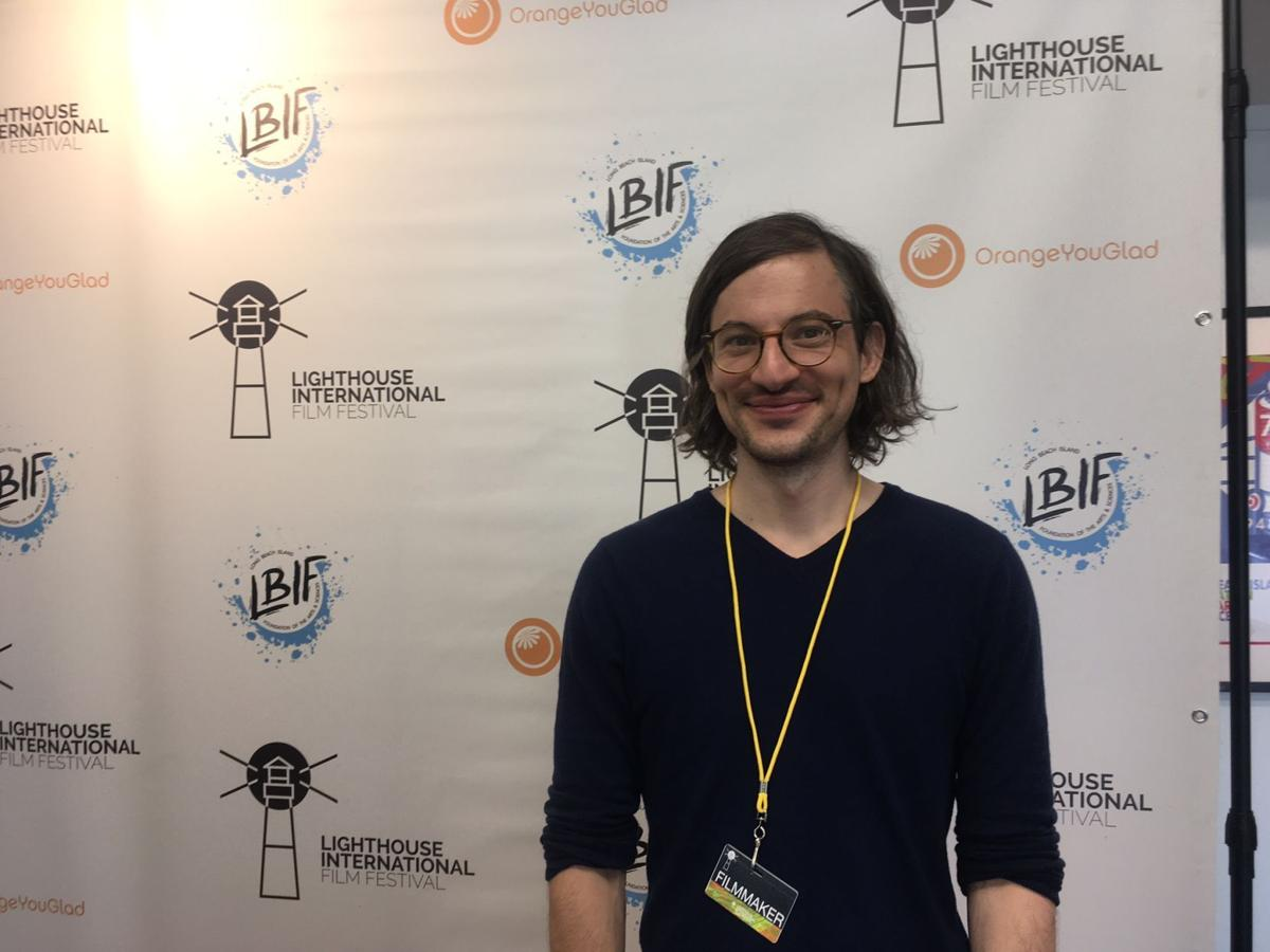Filmmaker Dash Shaw of Richmond, Virginia