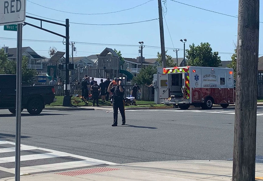 Pedestrian cited in Labor Day weekend accident in Ocean City