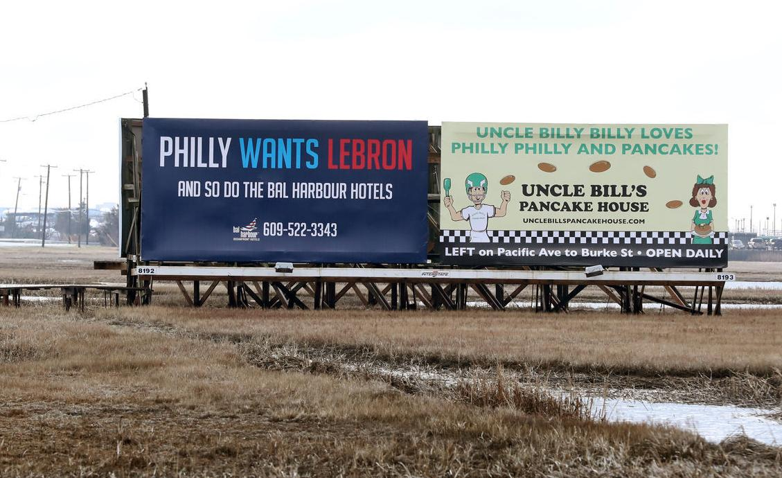 Lebron James Billboard