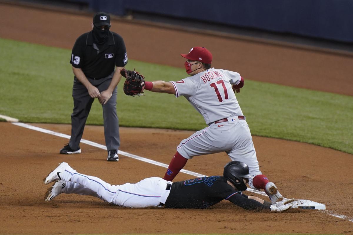 Phillies Marlins Baseball