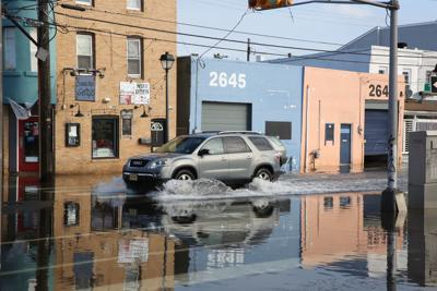 Flooding in Chelsea Friday