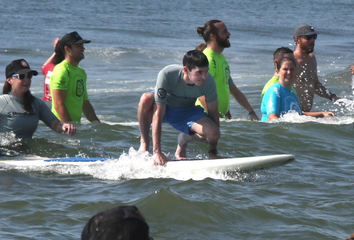 Life Rolls On surfing in Wildwood