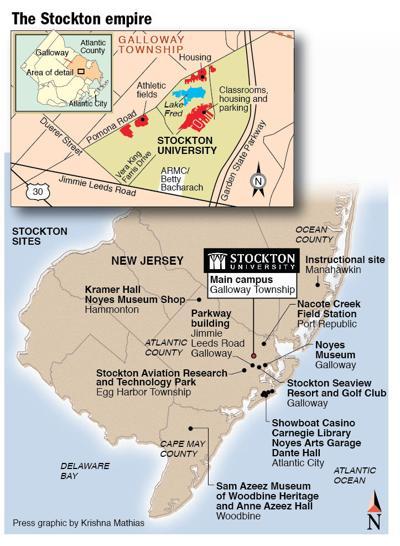 Stockton empire map