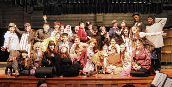 Oakcrest Drama Club puts skills to test with production of 'Annie'