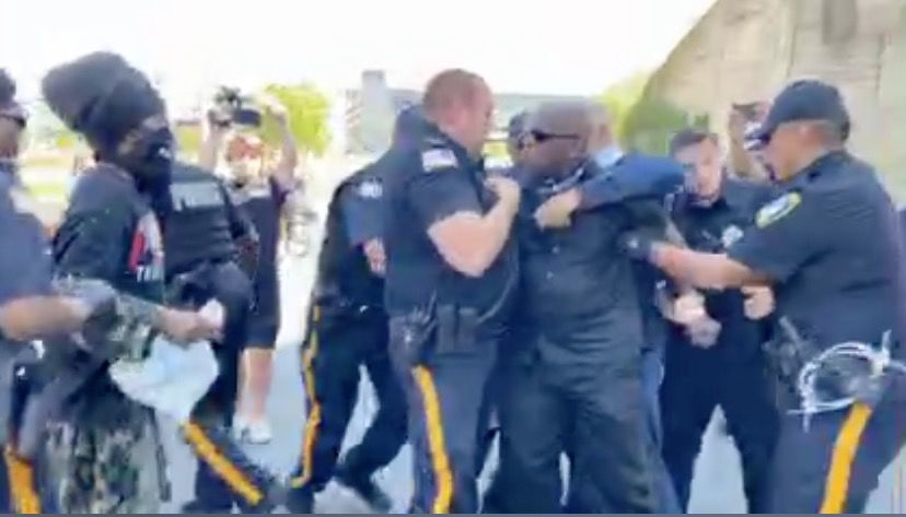 Atlantic City protest