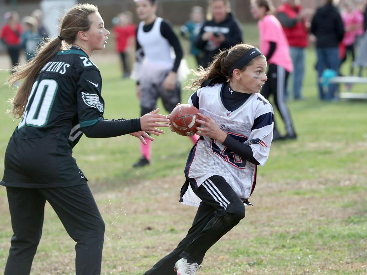 Powder Puff Football Upper Township School
