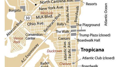 Atlantic city boardwalk casinos map tradewinds casino cruise johns pass fl