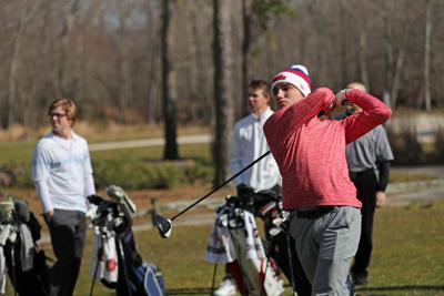 St. Augustine Prep Golf Practice