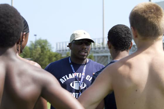 New Atlantic City H.S. football coach makes producing college graduates his priority