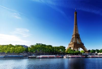 The Eiffel Tower in Paris is now open to the public.