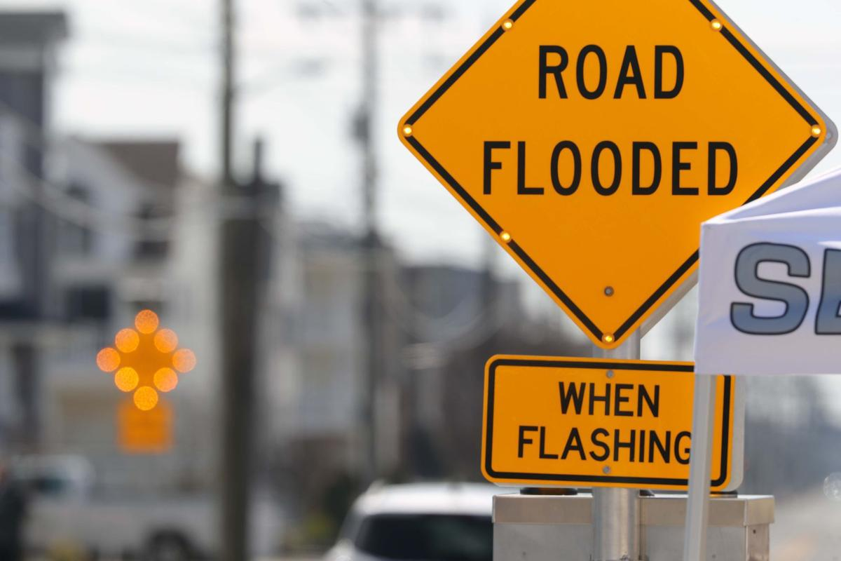 Sea Isle City unveils flood warning sign system