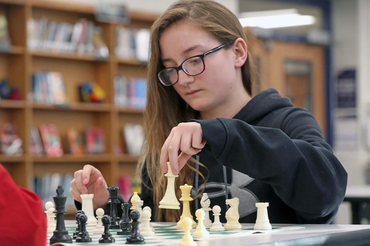 Oakcrest Chess Player Hannah Thompson