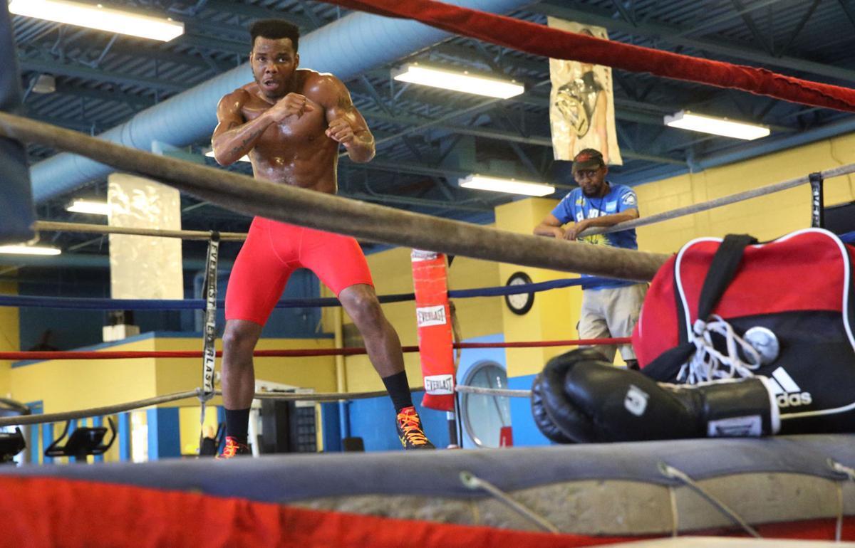 Isiah Seldon training