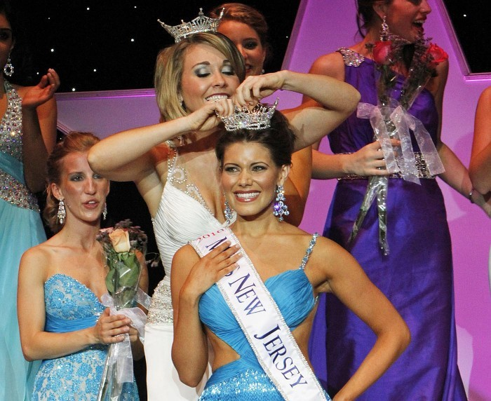 Miss New Jersey 2010 is crowned on the Ocean City, New Jersey Music Pier, June 19, 2010