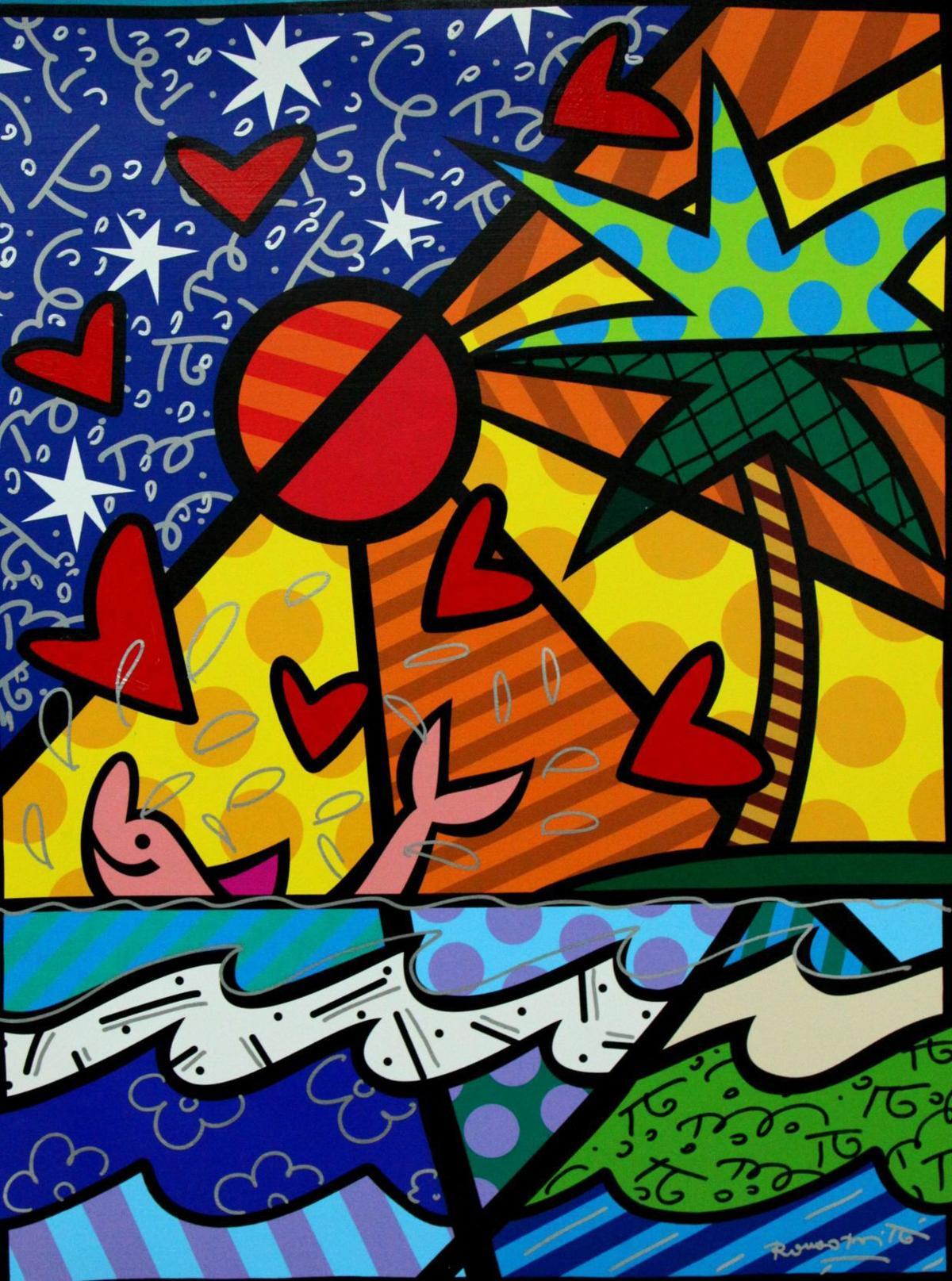 Neo-pop artist Romero Britto to exhibit at Ocean Galleries in Stone Harbor | Shore News Today | pressofatlanticcity.com