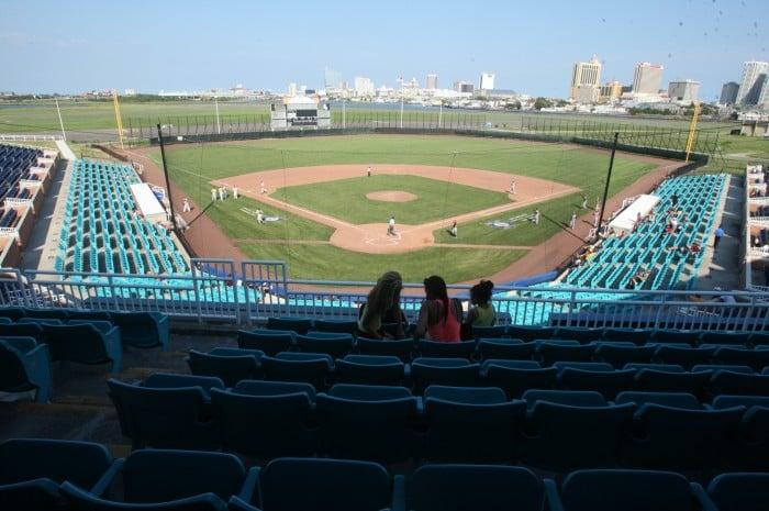 Baseball at Surf Stadium