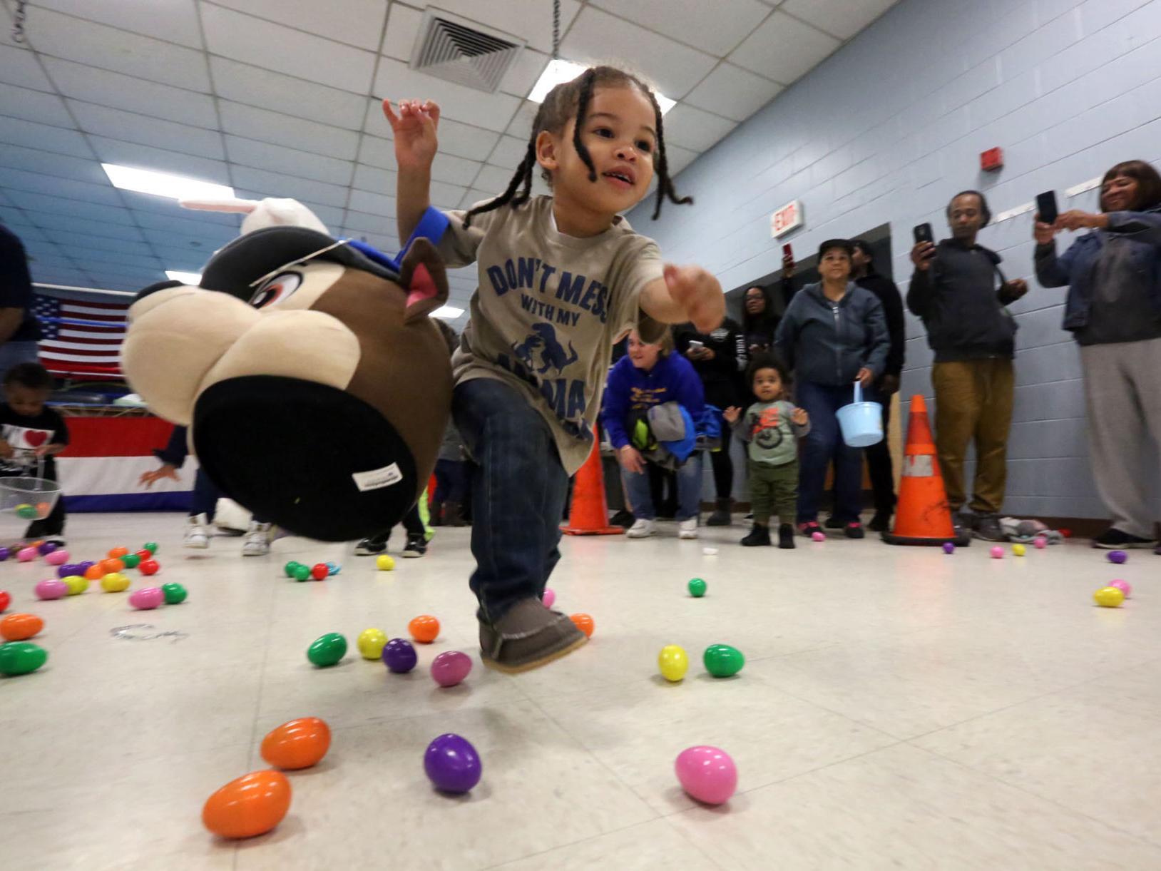 PHOTOS from Pleasantville's Easter egg hunt