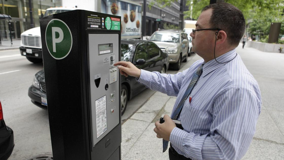 In some cities, you can pay for parking tickets with school supplies or cat food