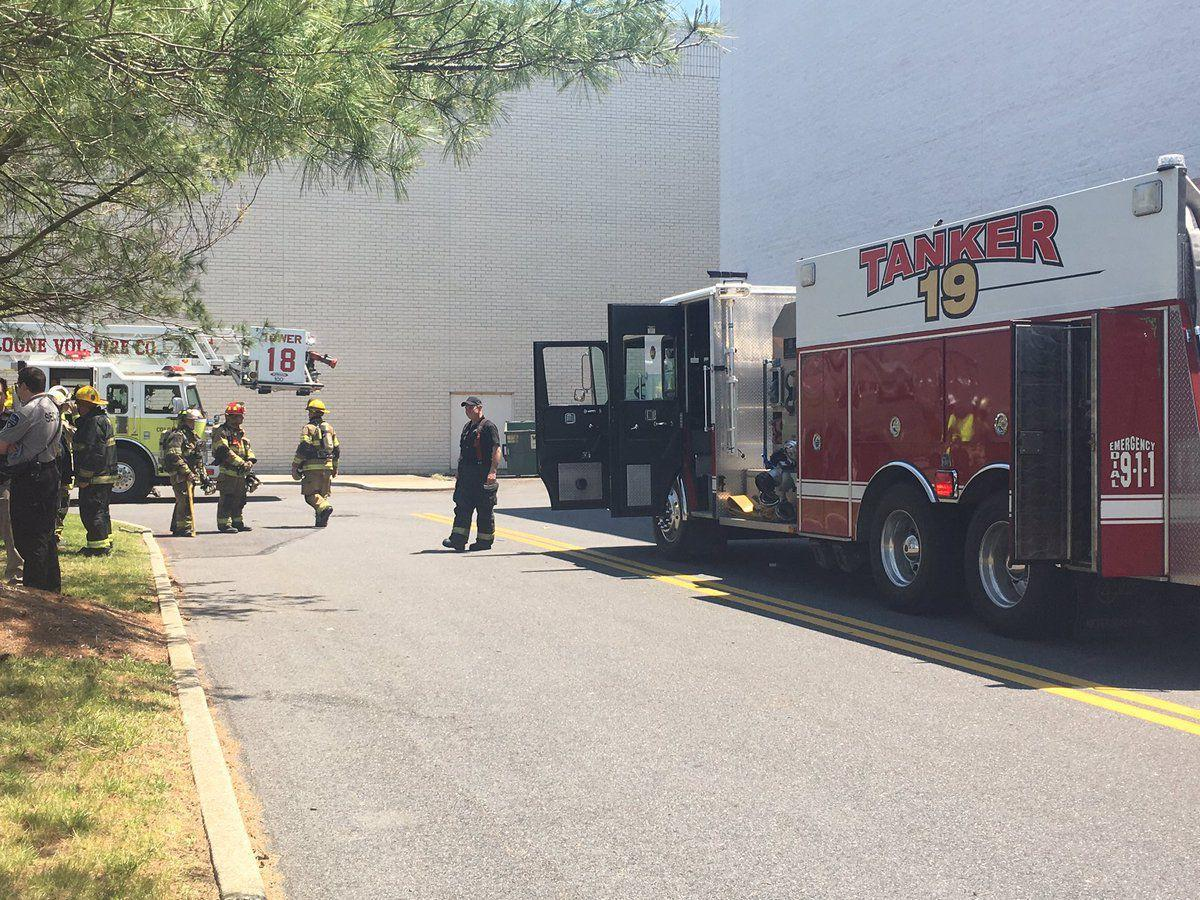 Hamilton Mall fire