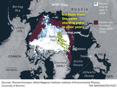 The biggest Arctic expedition ever will spend a year in sea ice studying climate change