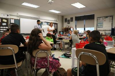 Mullica Township 1st day of school