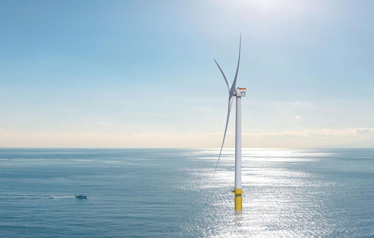 GE Renewable Energy's new 12 megawatt offshore wind turbine