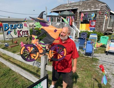 Cape May Beach and Kite Shop