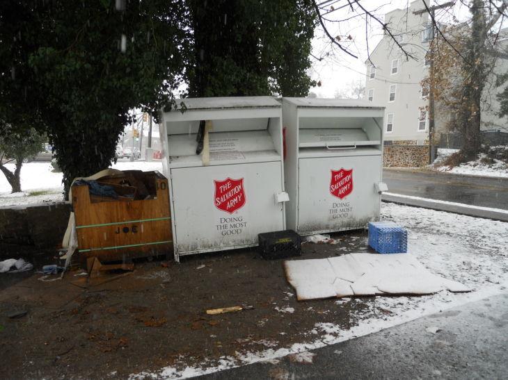 Bridgeton homeless man found dead in clothing bin