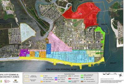 CRDA Master Plan map