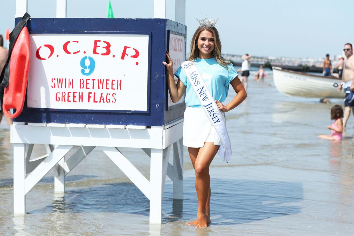 Miss New Jersey 2018 toe dip