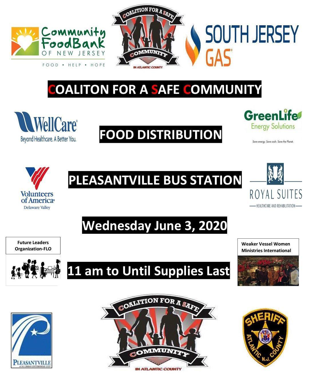 Pleasantville food distrbution
