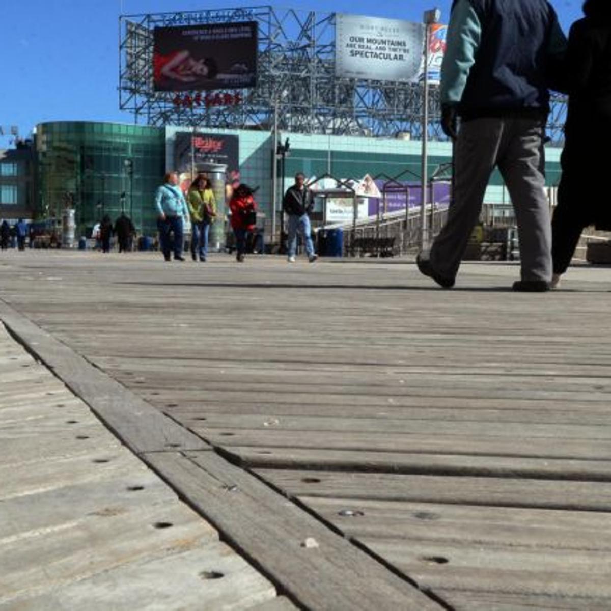 Salvaged From Atlantic City Boardwalk