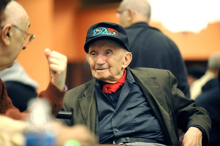 old poker player