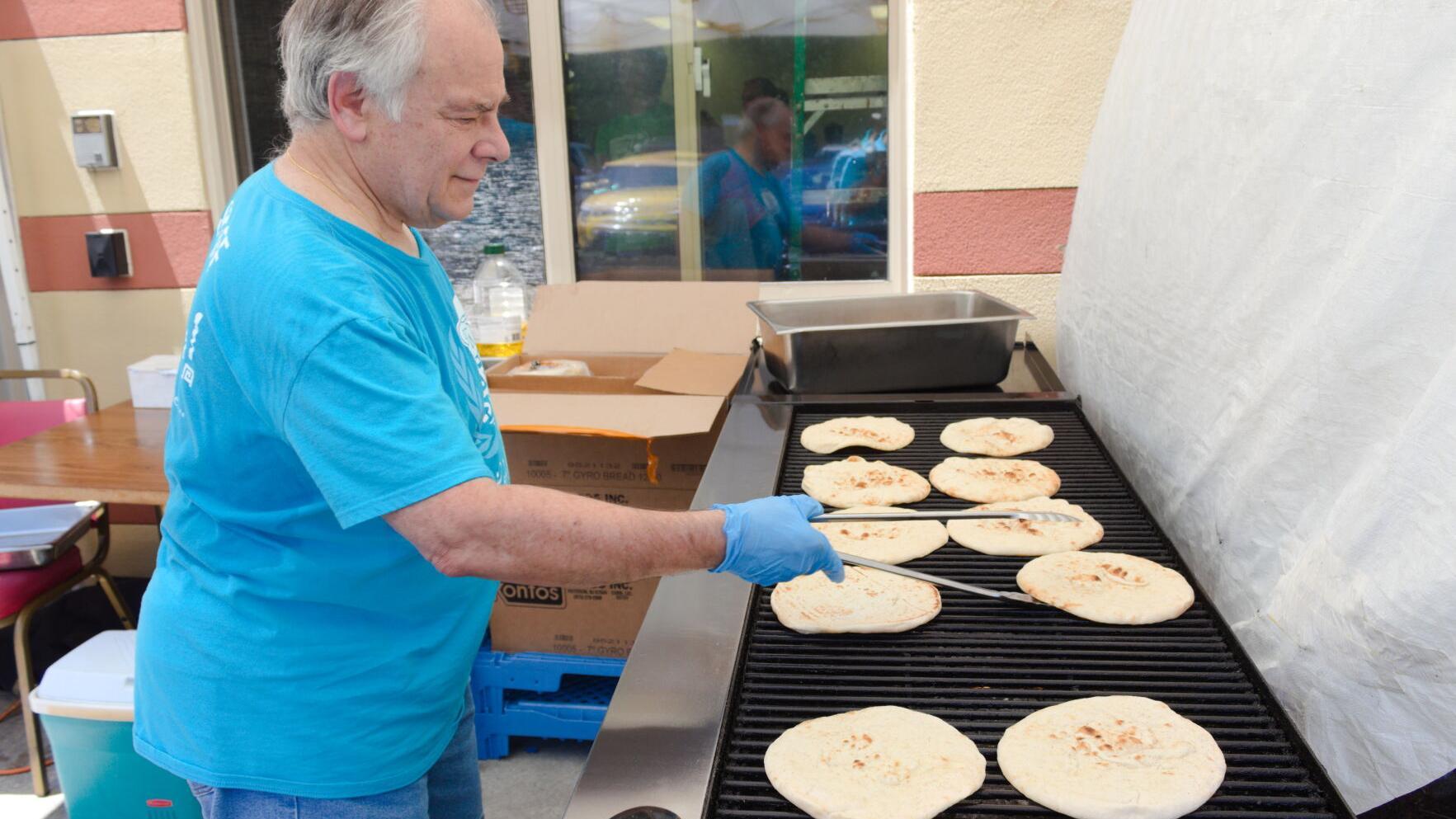Holy Trinity Greek Orthodox Church serves up tasty eats at drive-thru festival