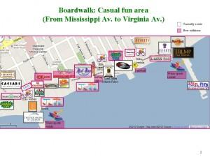 "Map ""Boardwalk Casual fun area"""