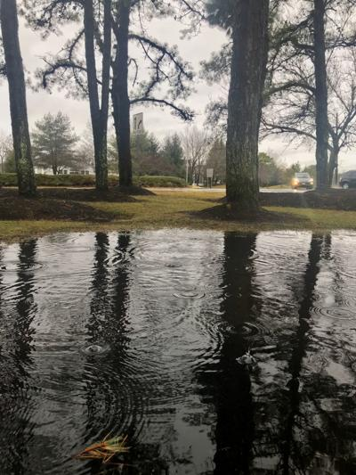 Rain falling in Smithville