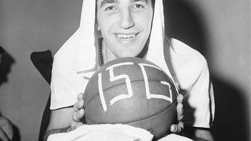 Photos of ex-76ers Hall of Famer Dolph Schayes