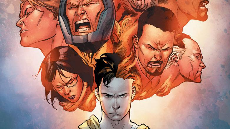 Early pencils for Valiant's 'Harbinger Renegade' #0, out Nov. 8