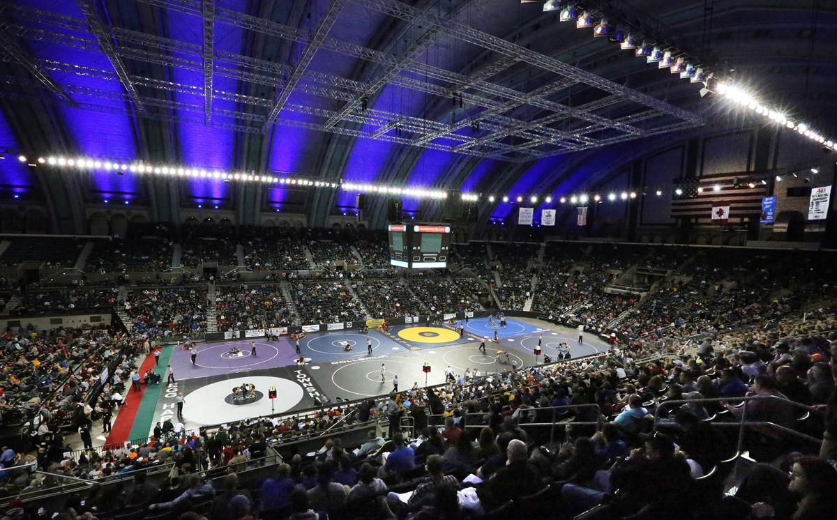 NJ State Wrestling Championships on Saturday