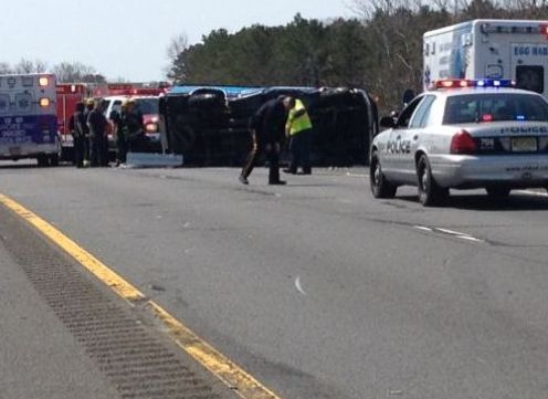 Southbound Traffic On Garden State Parkway Delayed Following Accident At Mp 33 Breaking News