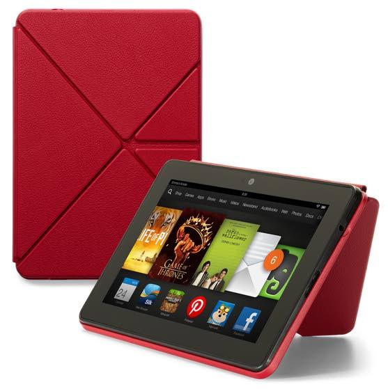 Kindle Fire HDX slimmer, sharper