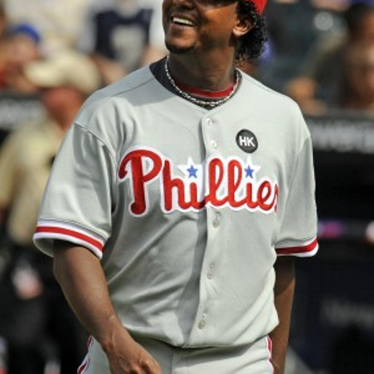 online retailer bd0cb 46a7c Pedro Martinez's return to New York with Phillies does not ...